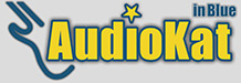 AudioKat. Logo