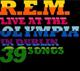 Carátula de 'Live at the Olympia', R.E.M. (2009)