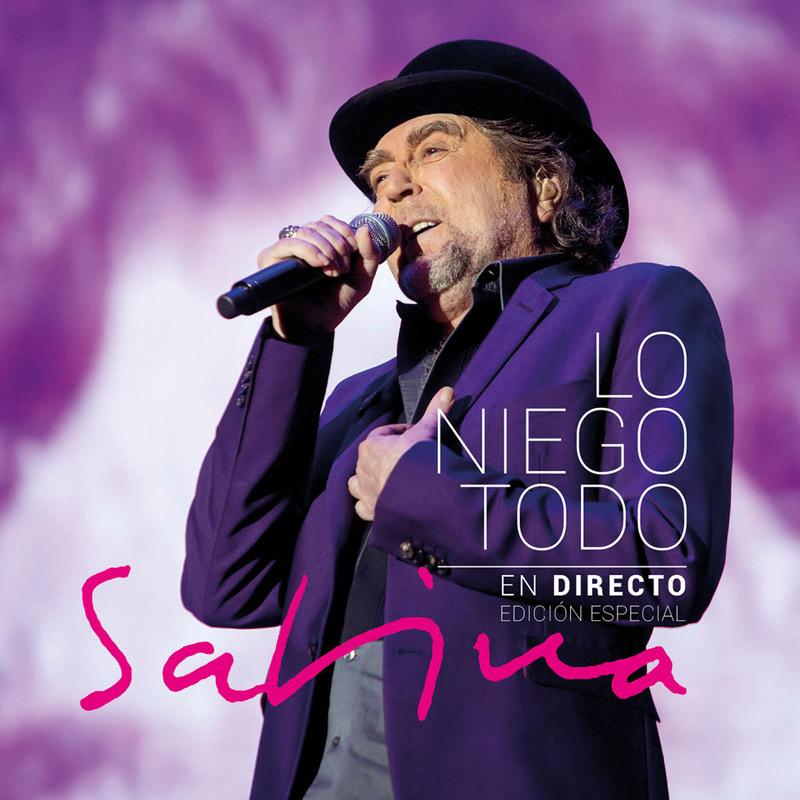 + info. de 'Lo Niego Todo en Directo', Joaquín Sabina (2018)