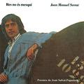 Carátula de 'Res No És Mesquí', Joan Manuel Serrat (1977)
