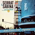 Carátula de 'Serrat & Sabina En el Luna Park', Joan Manuel Serrat (2012)