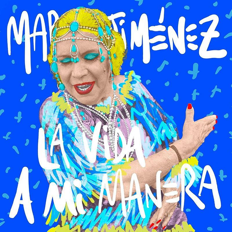 Carátula de 'La Vida a mi Manera', María Jiménez (2020)