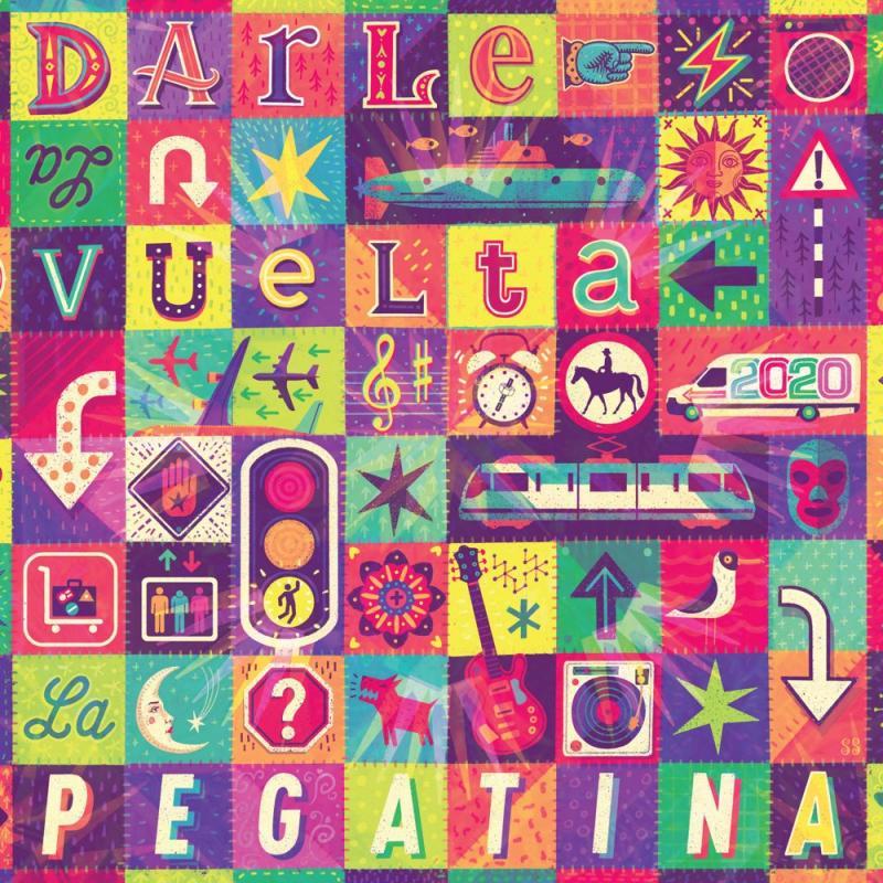 Carátula de 'Darle la Vuelta', La Pegatina (2020)