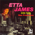 Carátula de 'Live from San Francisco', Etta James (1994)