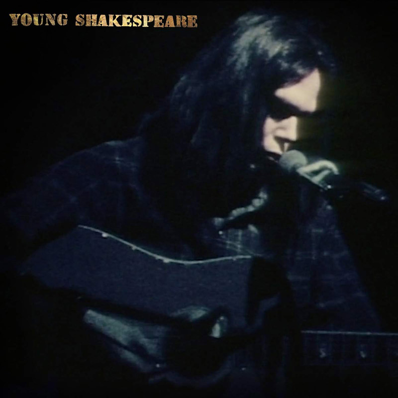 Carátula de 'Young Shakespeare', Neil Young (2021)