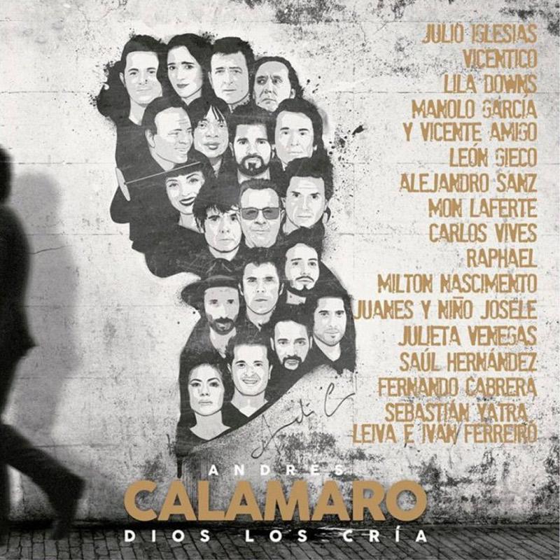 Carátula de 'Dios los Cría', Andrés Calamaro (2021)