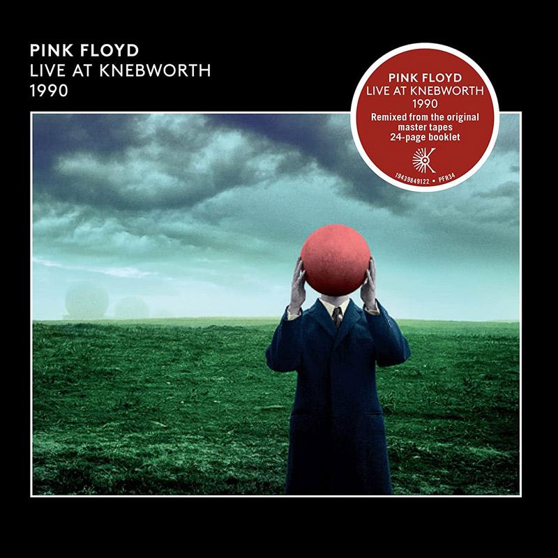 Carátula de 'Live at Knebworth 1990', Pink Floyd (2021)