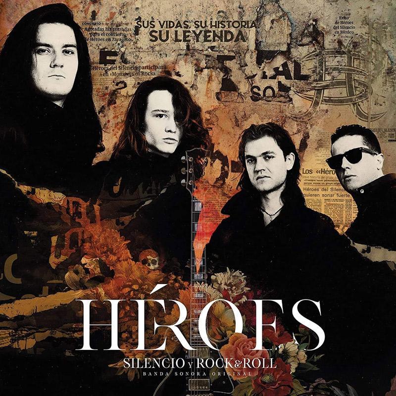 Carátula de 'Silencio y Rock & Roll', Héroes del Silencio (2021)