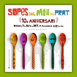 Llega la décima edición del Festival de Sopes del Món del Prat