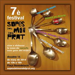 La tenemos aquí el 7º Festival de Sopes del Món del Prat...
