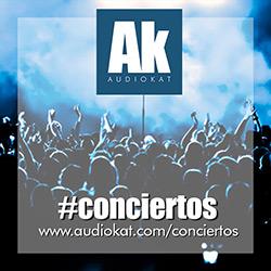 La agenda de conciertos de AudioKat…