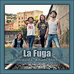 """Entrevista a La Fuga tras la publicación de """"Más de Cien Amaneceres""""..."""