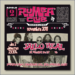 """Jaleo Real exhibe su """"rumba de combate"""" en el Rumba Club..."""
