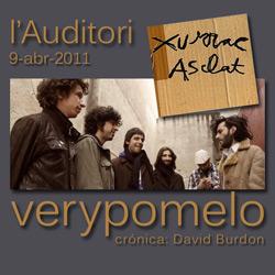 """Very Pomelo presentan """"Xurrac Asclat"""" en l'Auditori..."""