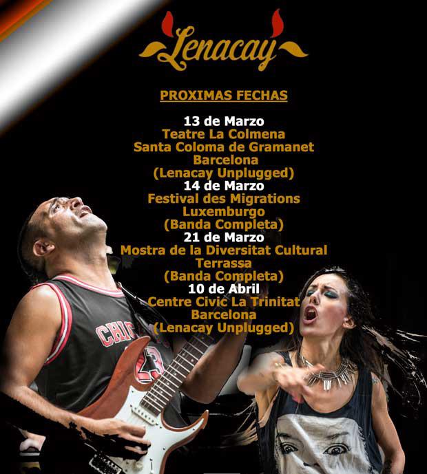 Lenacay en Teatre la Colmena, más info...