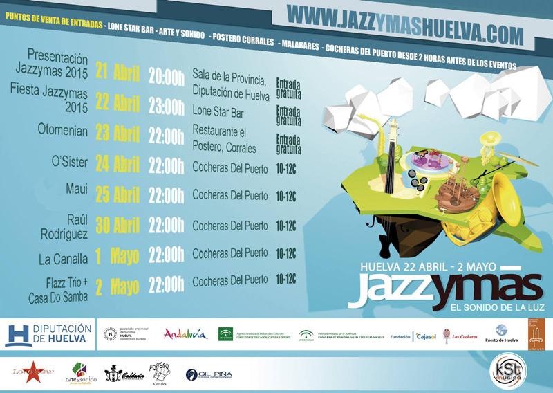 Maui y los Sirénidos en Festival Jazzymas, más info...