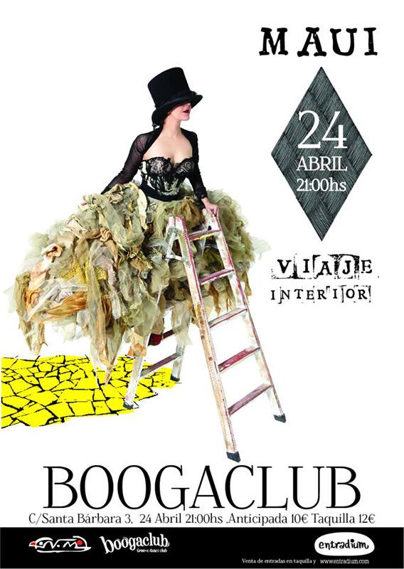Maui y los Sirénidos en Sala Boogaclub, más info...