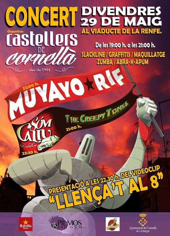 Muyayo Rif en Parc del Viaducte, más info...