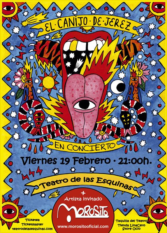 Morosito en Teatro de las Esquinas, más info...