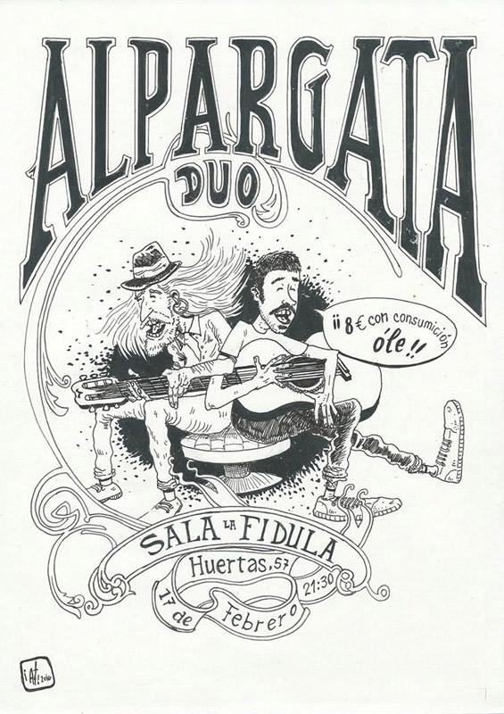 Alpargata en La Fídula, más info...