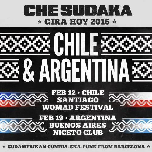 Che Sudaka en WOMAD Festival, más info...