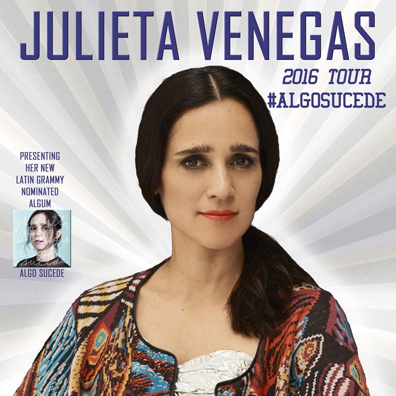 Julieta Venegas en Ace of Spades, más info...