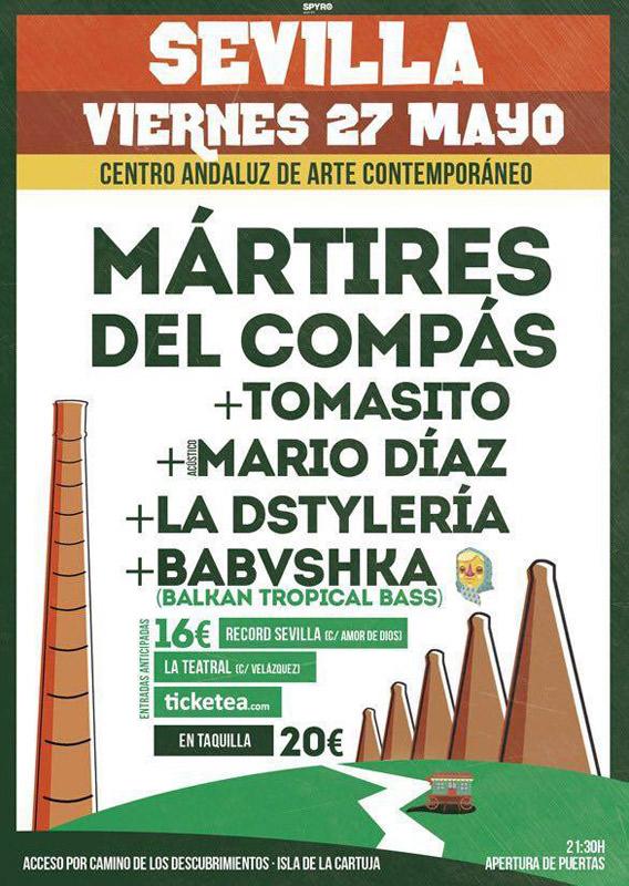 Mártires del Compás en CAAC *, más info...