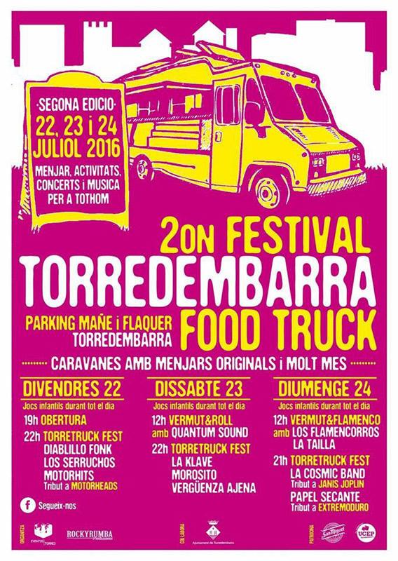 Morosito en Torredembarra Food Truck 2016, más info...