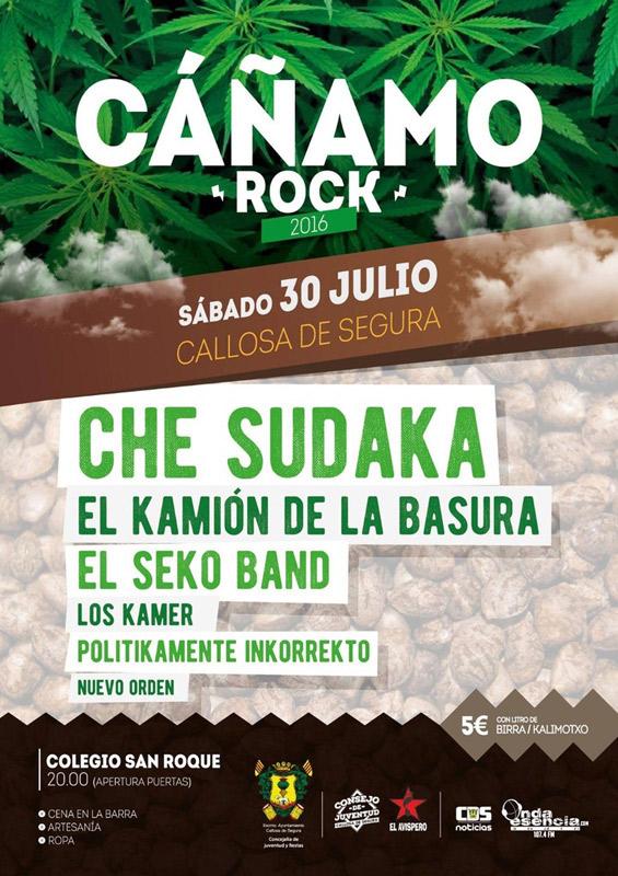 Che Sudaka en Cáñamo Rock, más info...