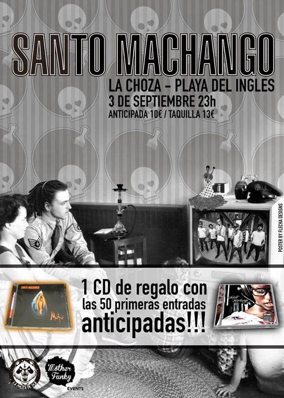 Santo Machango en La Choza, más info...