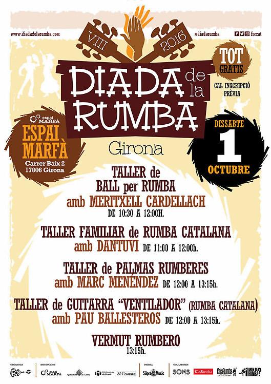 Diada de la Rumba 2016, más info...