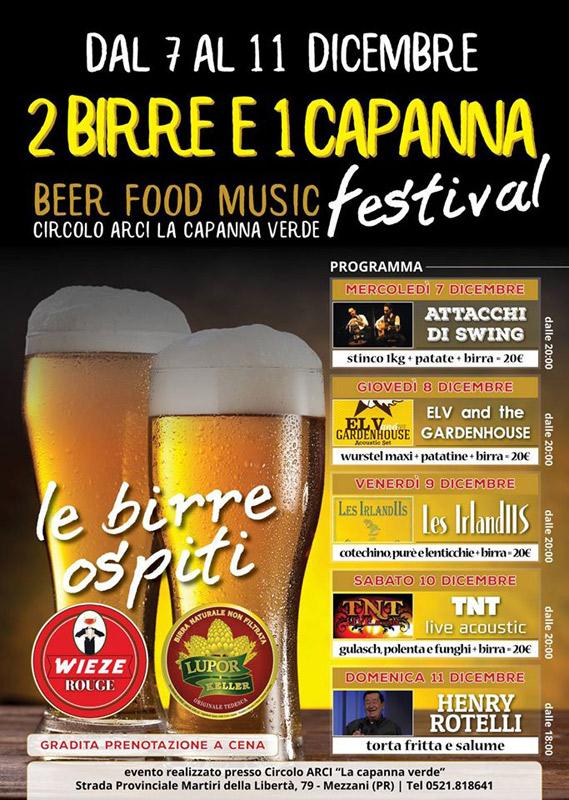 El V and the GardenHouse en Beer Food Music Festival, más info...
