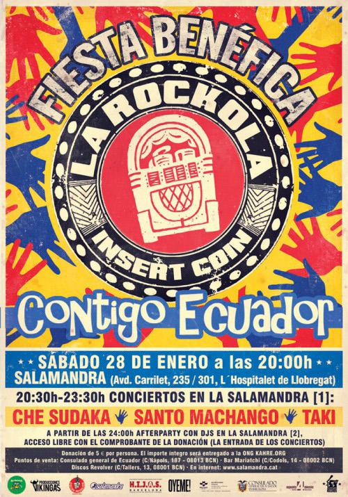 Che Sudaka en Fiesta Benéfica La Rockola, más info...