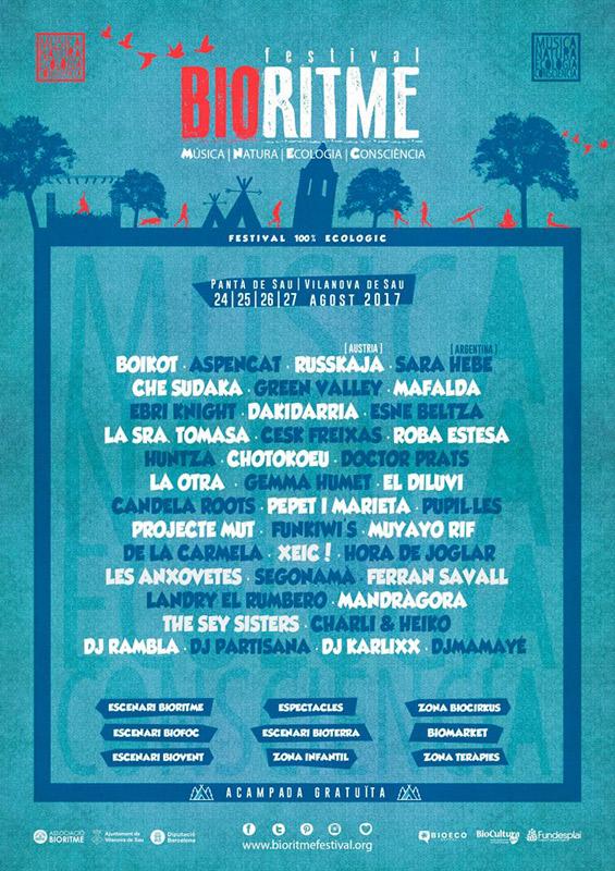Che Sudaka en BioRitme Festival, más info...