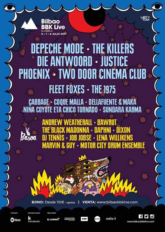 Depeche Mode en Bilbao BBK Live, más info...