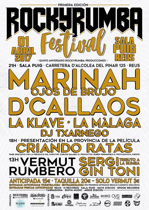 La Màlaga en Rock y Rumba Festival, más info...