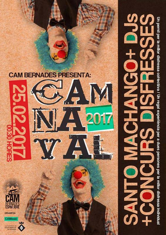 Santo Machango en CAMnaval 2017, más info...
