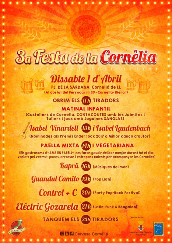 Isabel Vinardell & Isabelle Laudenbach en 3a Festa de la Cornèlia, más info...