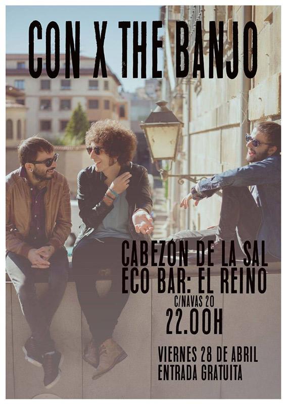 Con X The Banjo en EcoBar: El Reino, más info...