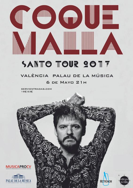 Coque Malla en Palau de la Música, más info...