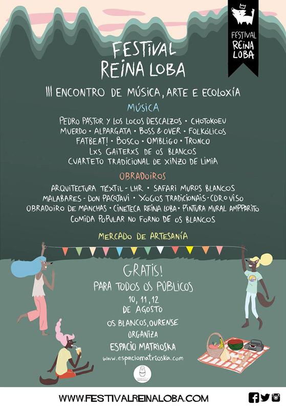 Alpargata en Festival Reina Loba, más info...