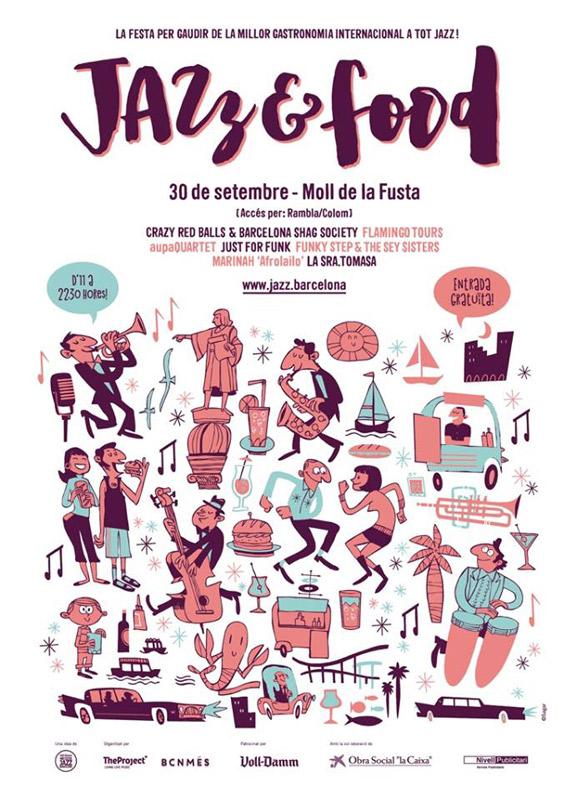 Jazz & Food 2017, más info...