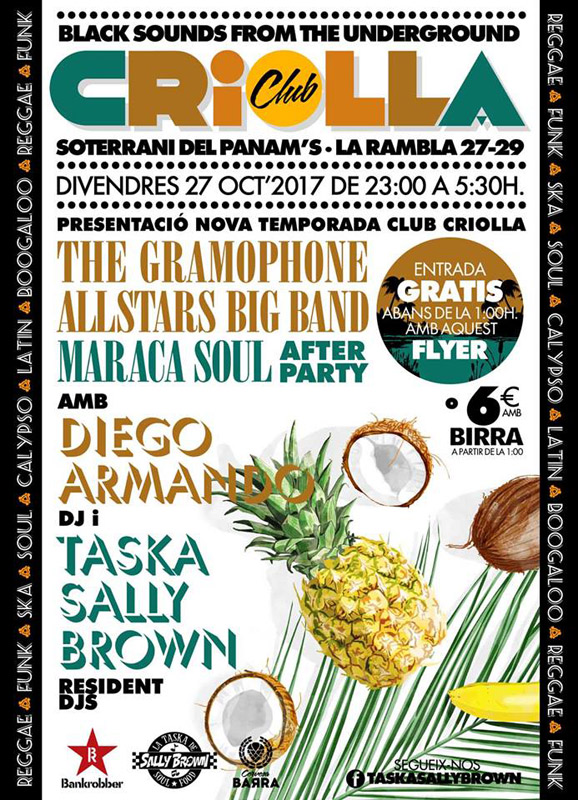 Club Criolla, más info...