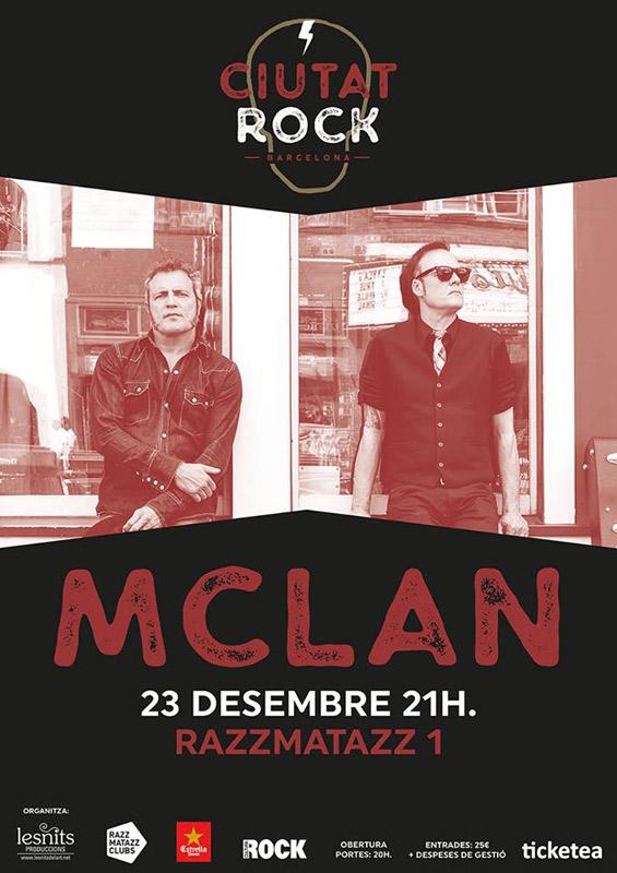 M Clan en Festival Ciutat Rock, más info...