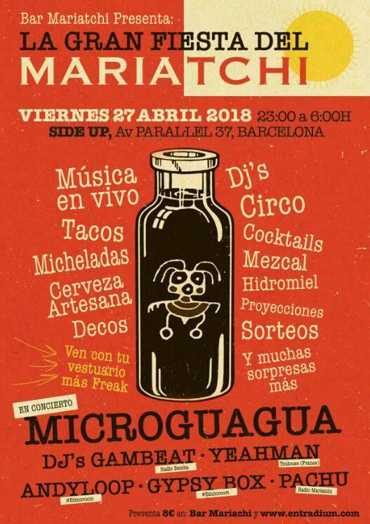 Microguagua en La Gran Fiesta del Mariatchi, más info...
