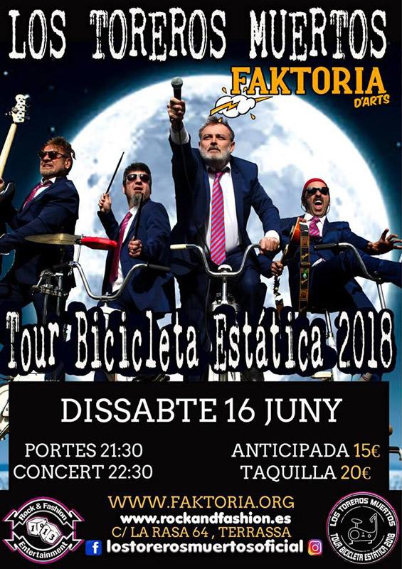 Los Toreros Muertos en Faktoria d'Arts, más info...
