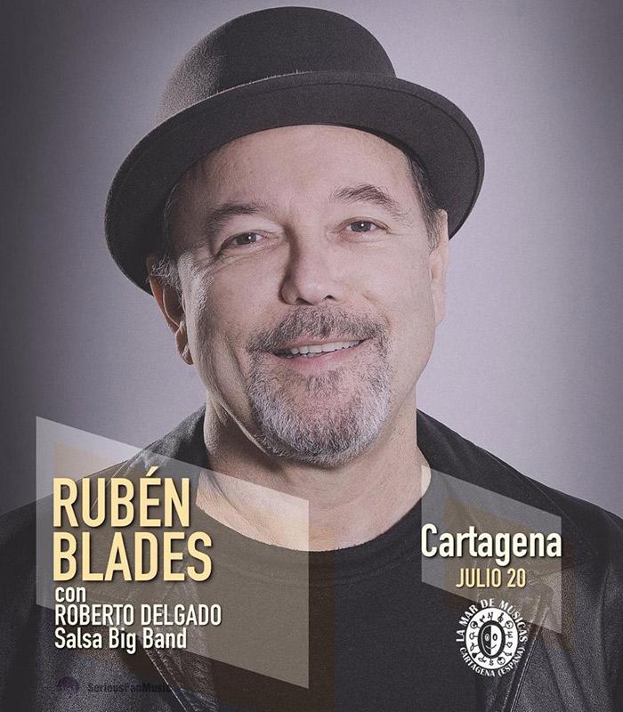 Rubén Blades en La Mar de Músicas, más info...