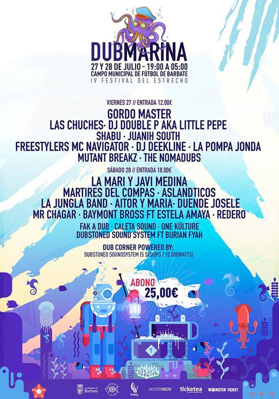 Mártires del Compás en Dubmarina Festival, más info...