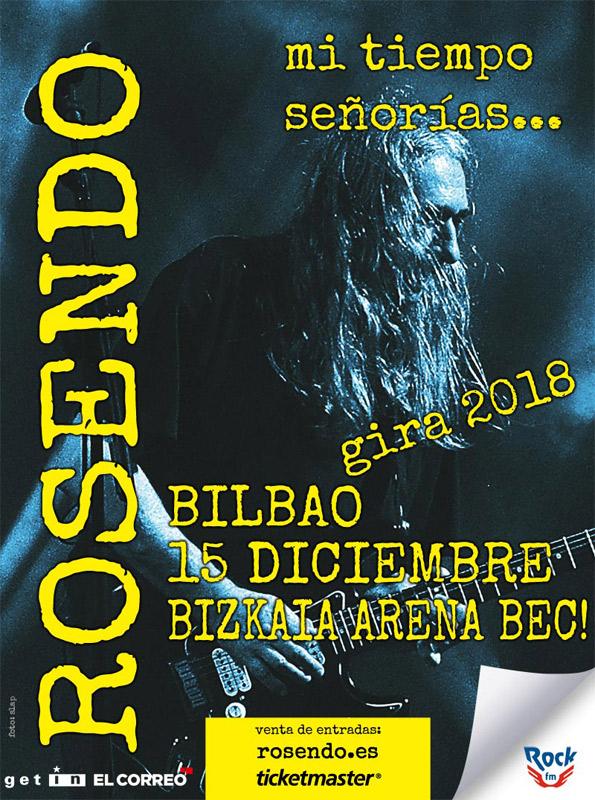 Rosendo en Bizkaia Arena BEC!, más info...