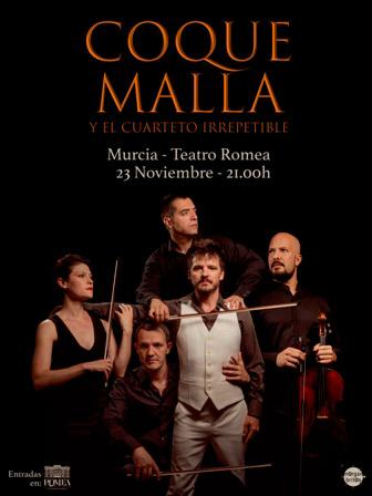 Coque Malla en Teatro Romea, más info...